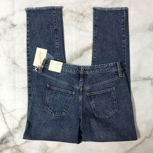 Universal Thread High Rise Straight Leg Jeans NWT